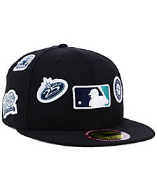 New Era Seattle Mariners Ultimate Patch Collection All Patches 59FIFTY Cap