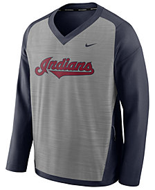 Nike Men's Cleveland Indians Dry Windshirt Top