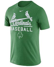 Nike Men's St. Louis Cardinals Clover Dry Practice T-Shirt