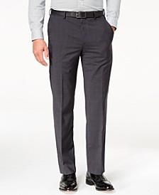 Men's Classic-Fit Airsoft Stretch Solid Suit Pants