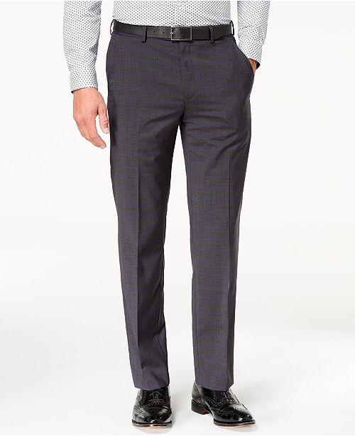 8b4af7ab29c48 ... Michael Kors Men s Classic-Fit Airsoft Stretch Solid Suit Pants ...
