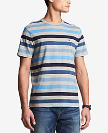 Tommy Hilfiger Men's Ludlow Stripe T-Shirt, Created for Macy's