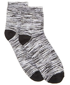 HUE® Women's  Super-Soft Cropped Socks