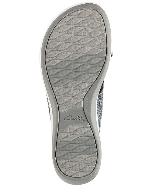 89720b07cb3 Clarks Collection Women s Cloudsteppers Arla Elin Sandals   Reviews ...