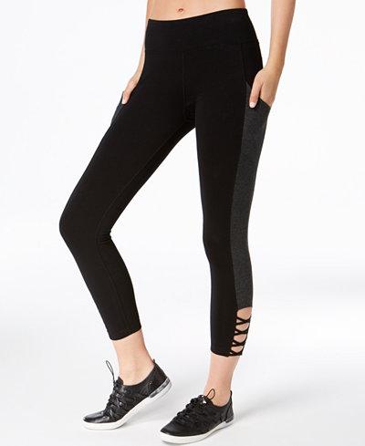 Calvin Klein Performance Crisscross Cropped Leggings