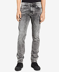 Calvin Klein Jeans Men's Storm Ash Skinny-Fit Stretch Jeans