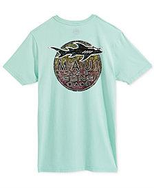Maui and Sons Men's Kali Style Logo-Print T-Shirt