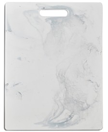 "Marble-Print 11"" x 14.5"" Cutting Board, Created for Macy's"