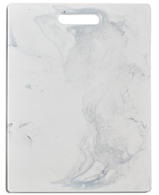 Martha Stewart Collection Marble-Print Cutting Board, Created for Macy's