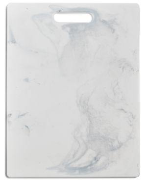 Martha Stewart Collection Marble-Print Cutting Board, Created for Macy's 5436347