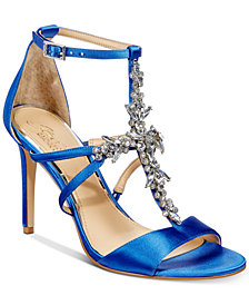 Jewel Badgley Mischka Galvin Evening Sandals, Created for Macy's