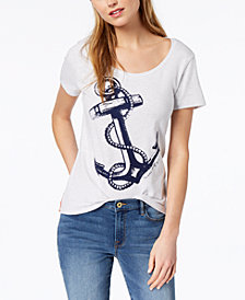 Tommy Hilfiger Anchor-Print T-Shirt