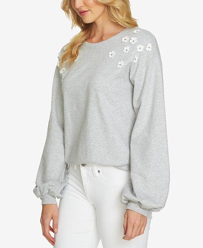CeCe Embellished Sweatshirt