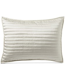 Plume Quilted King Sham, Created for Macy's