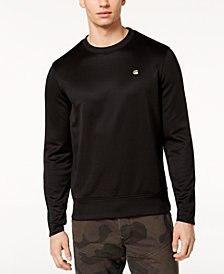 G-Star RAW Men's Carnix Neon Logo-Print Sweater