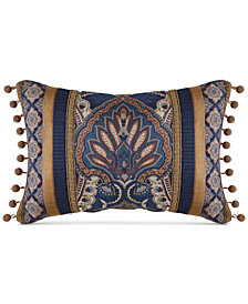 "Croscill Aurelio 19"" x 13"" Boudoir Decorative Pillow"