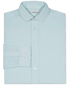Calvin Klein Hexagon-Print Shirt, Big Boys