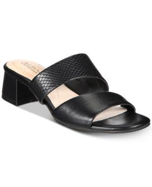 Alfani Women's Eviee Step 'N Flex Slide-On Sandals, Created for Macy's Women's Shoes 5343153