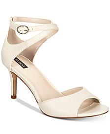 Alfani Women's Galeah Peep Toe Sandals, Created for Macy's