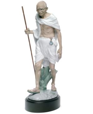 Lladro Collectible Figurine, Mahatma Gandhi