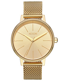 Nixon Women's Kensington Milanese Stainless Steel Mesh Bracelet Watch 37mm