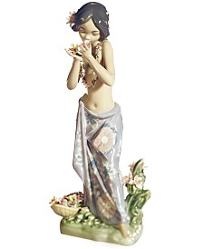 Lladro Collectible Figurine, Aroma of the Islands