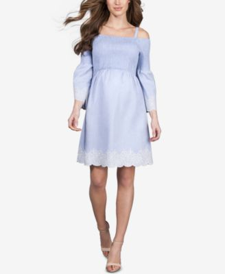 Seraphine Maternity Off The Shoulder Dress