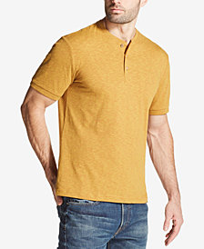 Weatherproof Vintage Men's Textured Jersey-Knit Henley