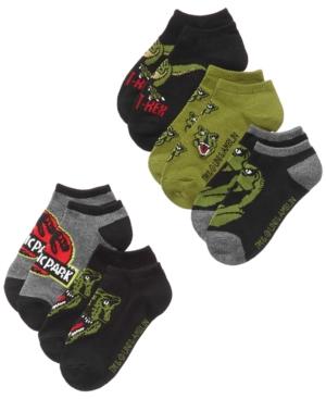 Jurassic Park 5Pack Jurassic Park GraphicPrint Socks Little Boys