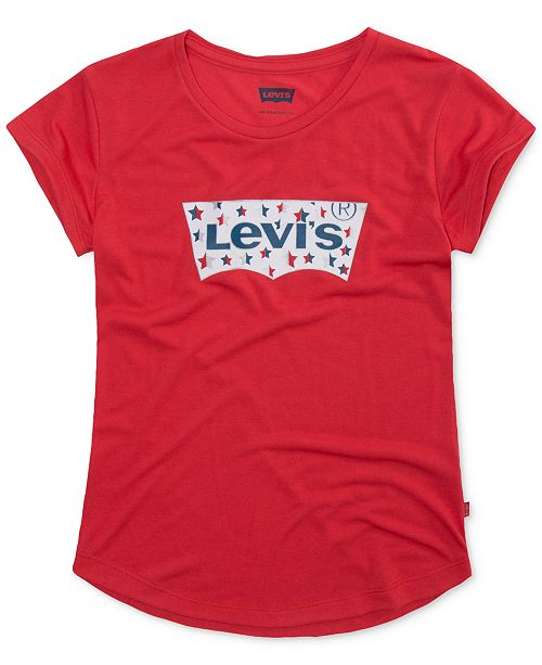 Levi's Star-Detail Logo T-Shirt, Toddler Girls