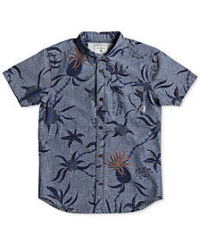 Quiksilver Shakka Mate Cotton Shirt, Big Boys