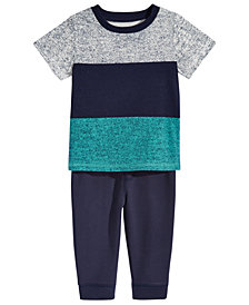 First Impressions T-Shirt & Pants Separates, Baby Boys, Created for Macy's