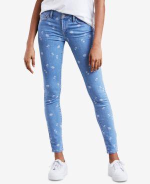 710 Super Skinny Jeans, Palm Breeze