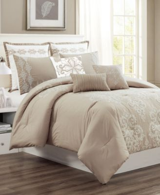 Vilette 8-Pc. King Comforter Set