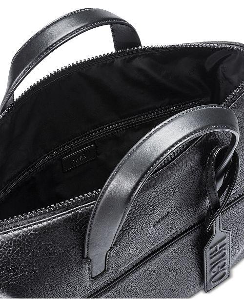 5872ce55a6e9 Hugo Boss Men s Victorian Leather Document Case - All Accessories ...