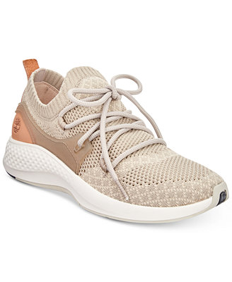 Women's Fly Roam Go Knit Chukka Sneakers by Timberland