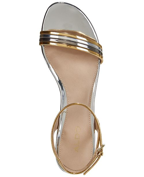 a03d33da71b ALDO Izzie Metallic Sandals   Reviews - Sandals   Flip Flops - Shoes ...