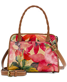 Patricia Nash Printed Paris Satchel