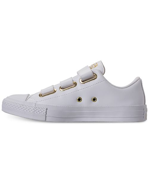 1d72e95fb8a4 ... Converse Women s Chuck Taylor 3-Strap Casual Sneakers from Finish Line  ...