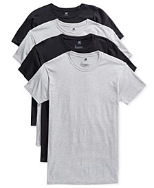 Men's 4-Pk. Platinum ComfortFit Crew Neck T-Shirts