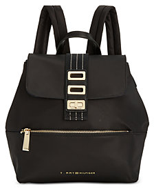 Tommy Hilfiger Triple-Compartment Solid Backpack