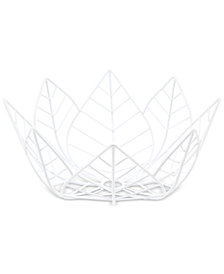 "CLOSEOUT! Thirstystone Metal Wire 10"" Lotus Bowl"