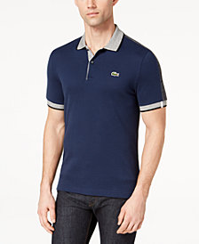 Lacoste Men's LIVE Contrast-Trim Polo