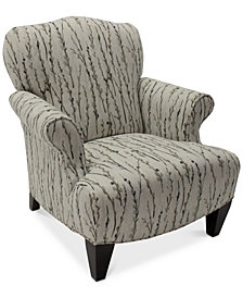 Walton Fabric Press Back Chair