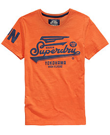 Superdry Men's High Flyers Logo-Print T-Shirt