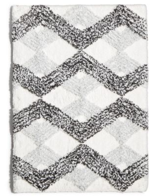 "Ripple Gem 17"" x 24"" Tufted Bath Rug"