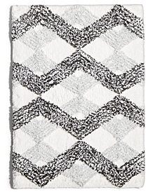 "Comfort Soft Ripple Gem 17"" x 24"" Tufted Bath Rug"