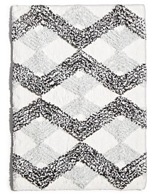 "Comfort Soft Ripple Gem 21""x 34"" Tufted Bath Rug"