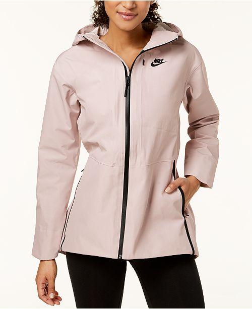 13846f09ca1a Nike Sportswear Shield Woven Tech Jacket   Reviews - Jackets ...