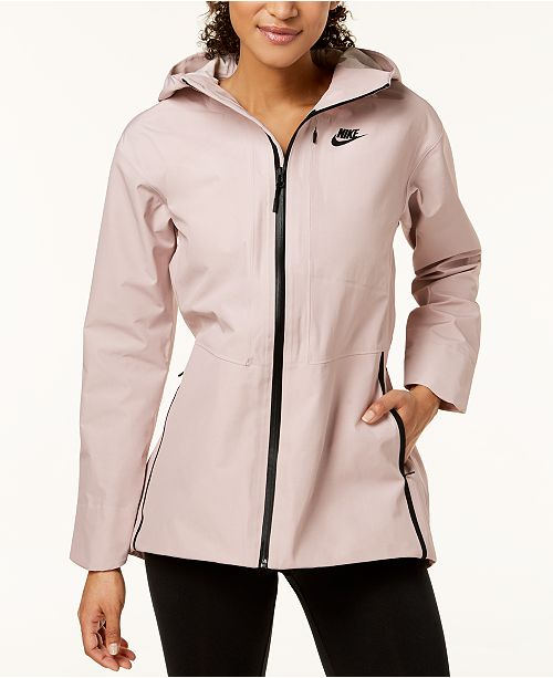 358a3f5740e5 Nike Sportswear Shield Woven Tech Jacket   Reviews - Jackets ...